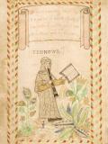 The Tenor illustration from the Wode Psalter
